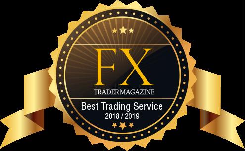 TraderMagazine Auszeichnung für Best Trading Service